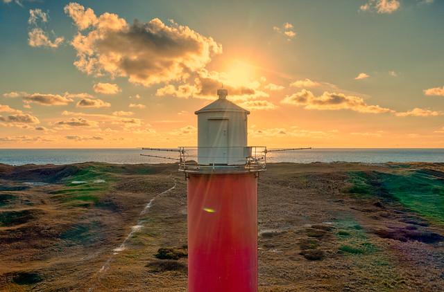 Grote Kaap Lighthouse, julianadorp, Holland.