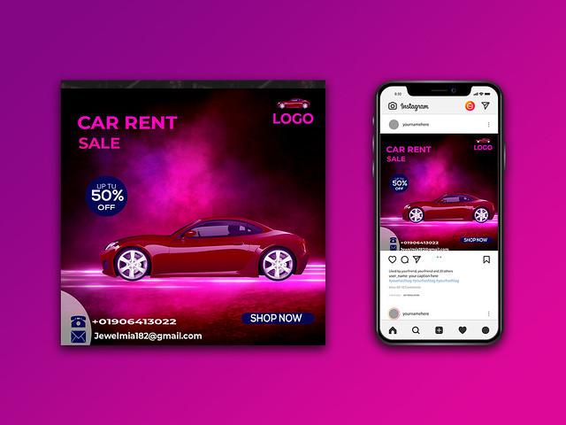 Social Media Banner design products promote