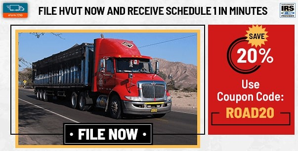 File IRS 2290 Form and Get Schedule 1 in minutes | eform2290