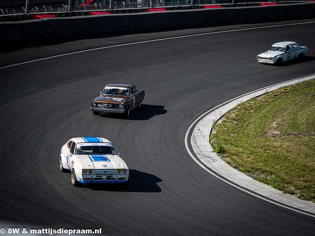 2021 Zandvoort Race Classics: Ford Capri, Plymouth Barracuda & Ford Escort RS2000