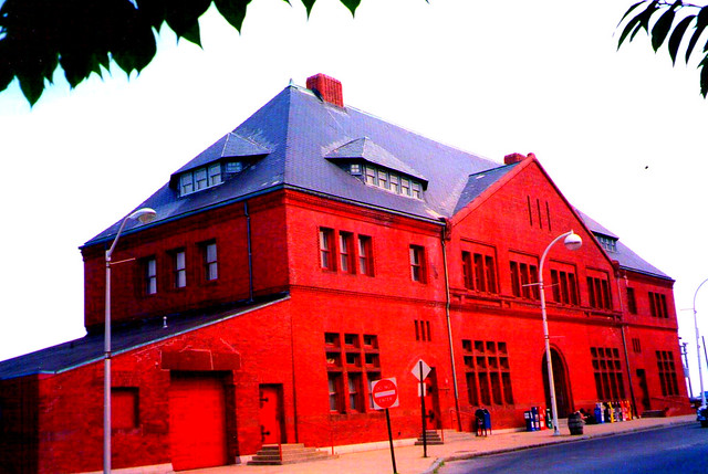 New London - Connecticut - Union Station - Historic Architecture