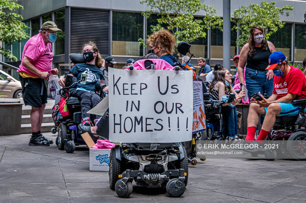 Repeal & Restore RALLY: Save Home Care Eligibility and CDPA cuts