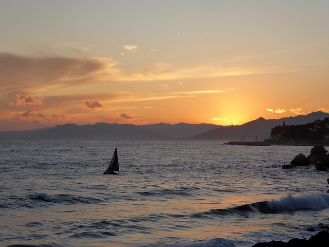 tramonto a Varigotti