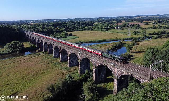 46100 | Dutton Viaduct Acton Bridge