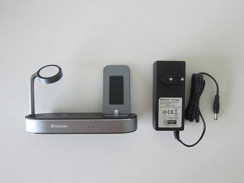 Verbatim 4-in-1 Wireless Charging Dock - Box Contents