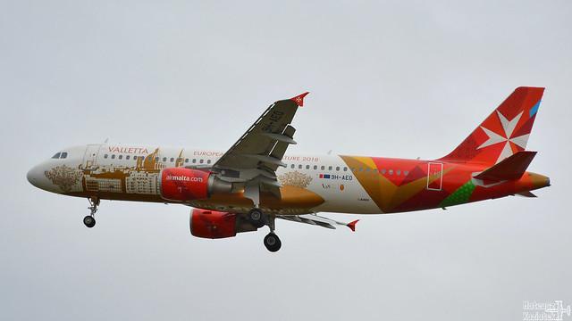 Air Malta 🇲🇹 Airbus A320-200 9H-AEO