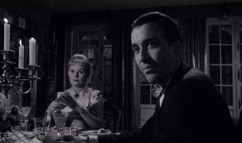 Ann Todd et Christopher Lee dans Hurler de peur (Taste of Fear / Scream of Fear, Seth Holt, 1961)