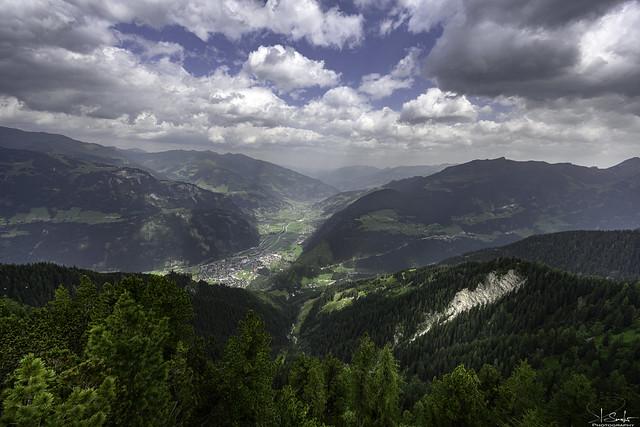View of the Ziller Valley - Ahorn - Austria