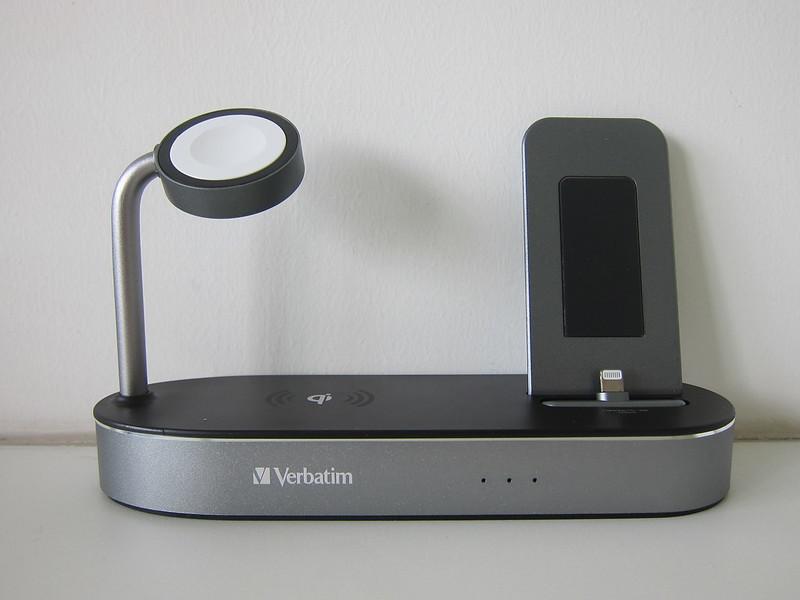 Verbatim 4-in-1 Wireless Charging Dock - Front
