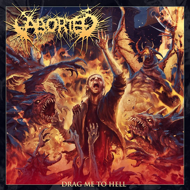 Aborted March Onward with New Track 'Drag Me To Hell'