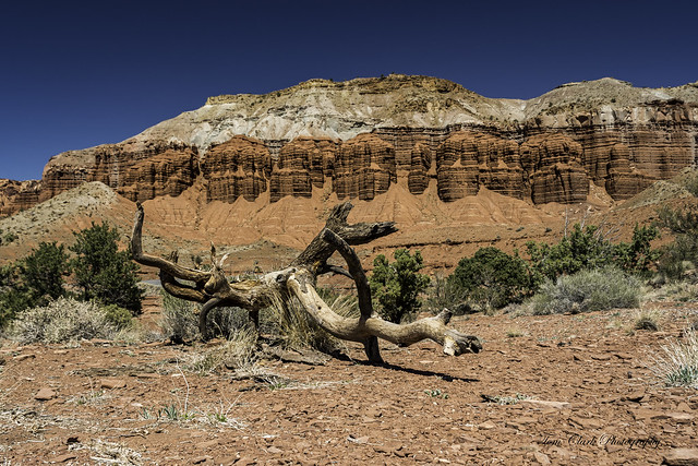 Mummy cliff and The Fluted Wall in Capitol Reef NP