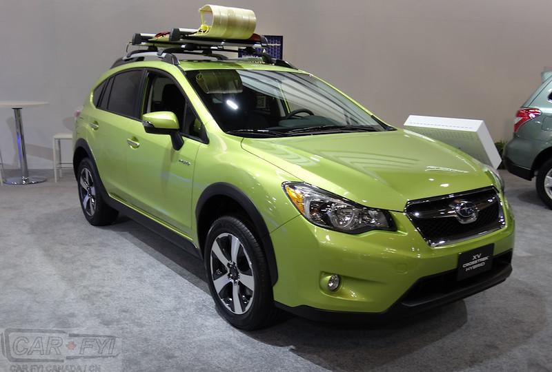 Subaru Crosstrek Hybrid ar 2015 CIAS