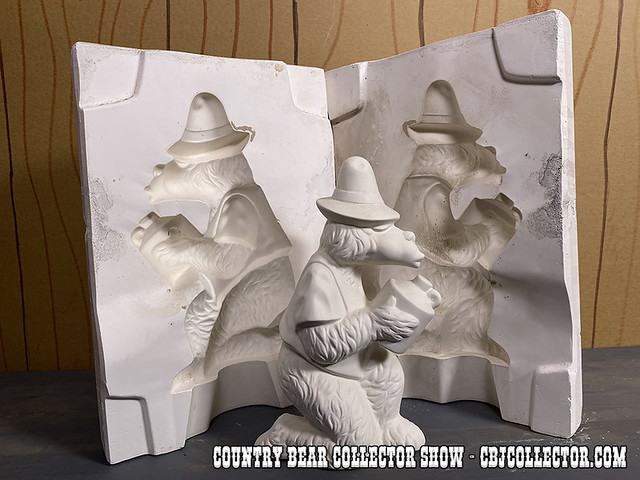 1970s Walt Disney Ted Leisuramics Ceramics Mold