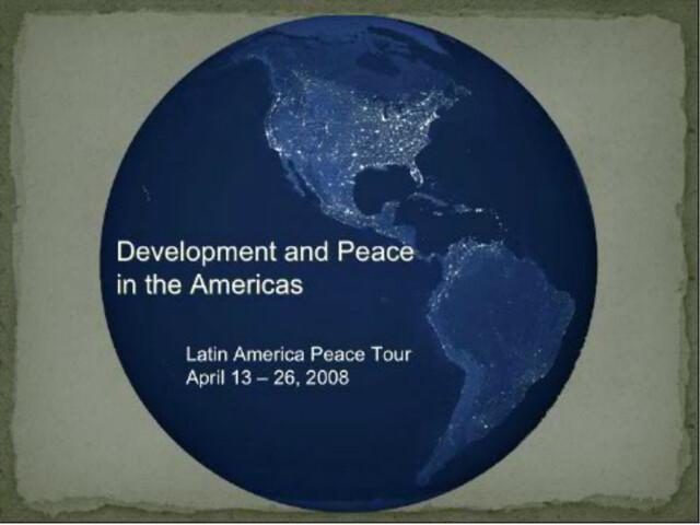 Latin America-2008-04-26-UPF Latin American Tour
