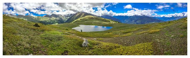 Sommet du Gebidum - Alpes Suisse - Valais...