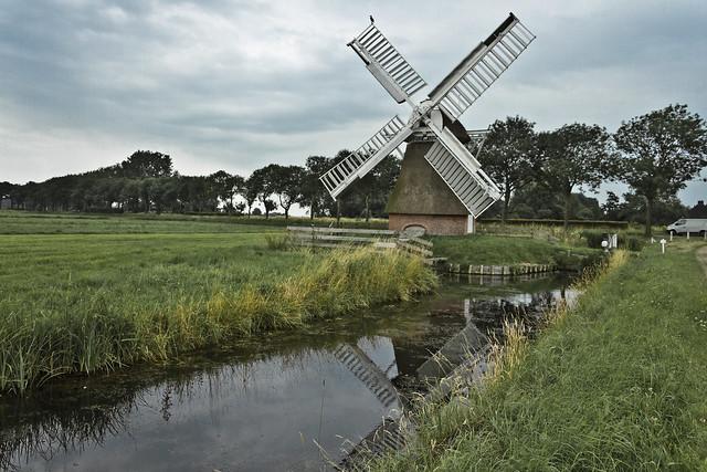 Polder Mill ''t Witte Lam' (AD 1860), Groningen - The Netherlands (4011)
