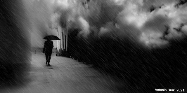 Madrid. Lluvia de adentros.