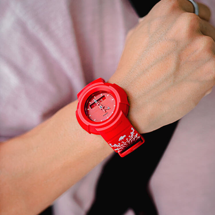 G-shock national day watch