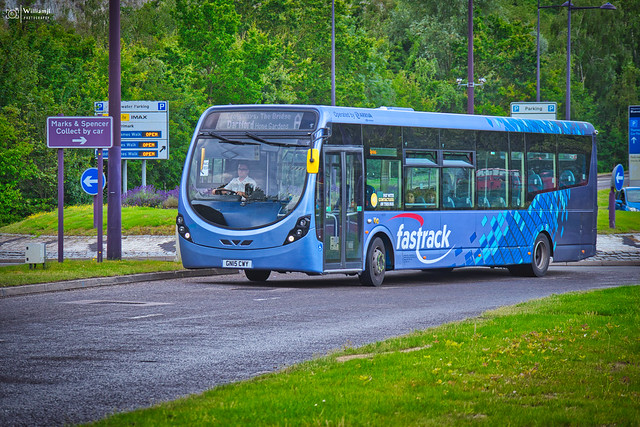 GN15 CWY - Wright StreetLite - Arriva Fastrack 4302