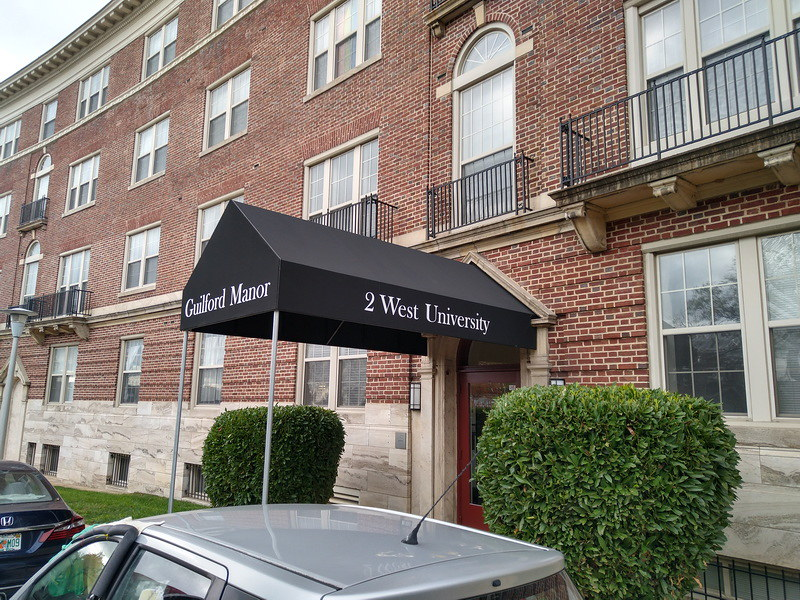 commercial-entrance-awning- hoffman awning