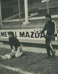 Temporada 1977/78: Damas, portero del Racing de Santander