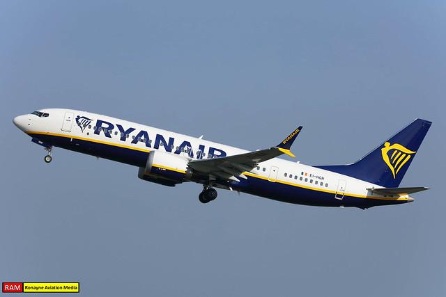 EI-HGR   Boeing 737-8-200 MAX   Ryanair