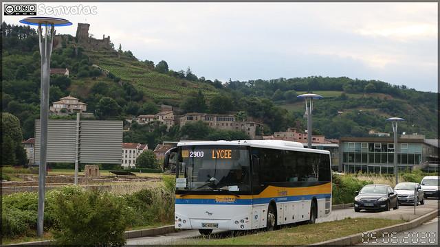 Temsa Tourmalin – VFD (Voies Ferrées du Dauphiné) (CFTR, Compagnie Française des Transports Régionaux) / Auvergne-Rhône-Alpes / TransIsère n°206