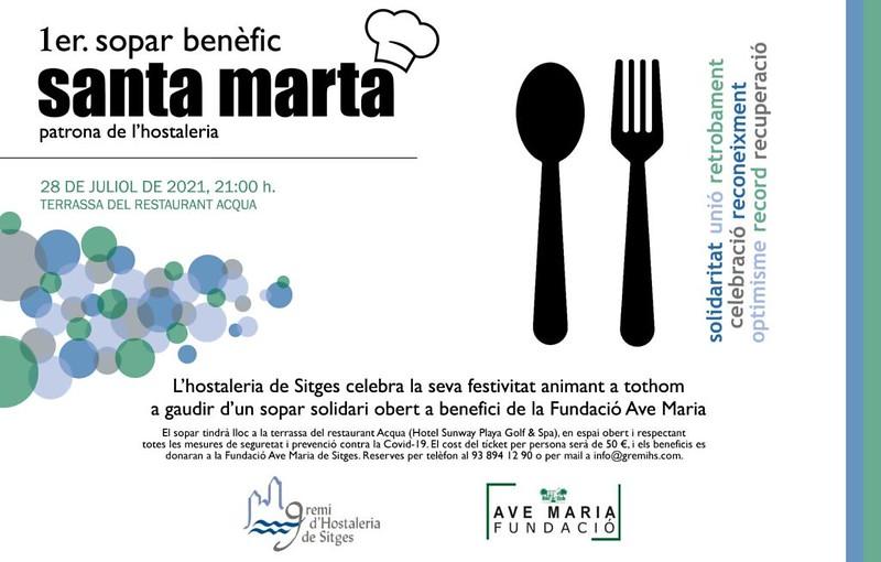 Santa Marta Sitges 2021 – Patrona de la Hostelería