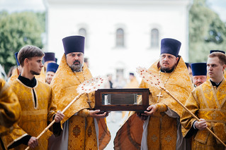 22.07.2021 | Пребывание мощей благоверного князя Александра Невского в Великом Новгороде (2 день)