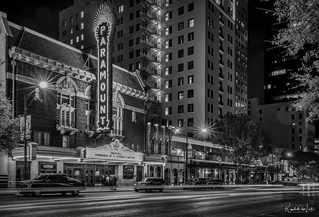 Paramount Theatre, Congress Avenue, Austin, Texas