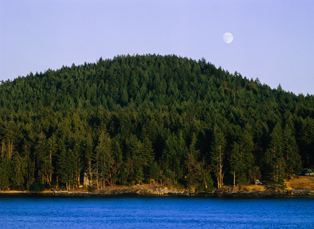 Ektachrome Gulf Island Moon