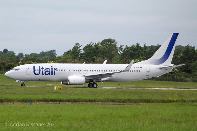 UTAIR B737 VQ-BLP
