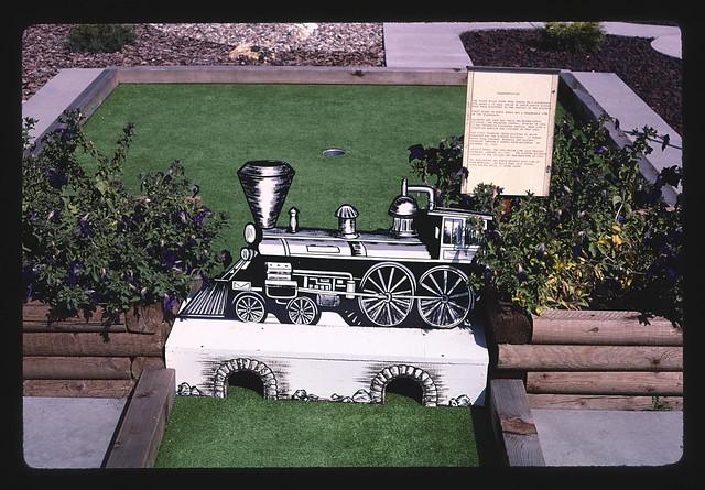Locomotive, Golden West mini golf, Hill City, South Dakota (LOC)