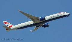G-XWBC - British Airways - Airbus A350-1000