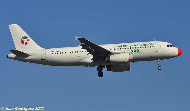 OY-JRK - Danish Air Transport (DAT)  - Airbus A320-231 - PMI/LEPA