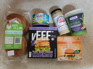 Veef Chicken and Bacon Burgers