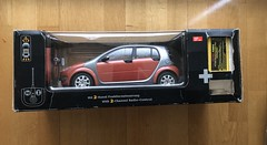 Used Dickie R/C Smart ForFour - Red 1:12 Scale