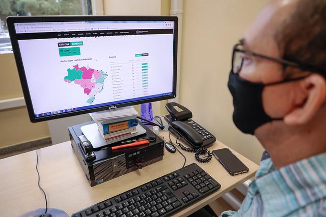 22.07.21 - Controlador Geral do Município comemora conquista de Manaus ser segunda capital com maior indica de transparência da Covid-19