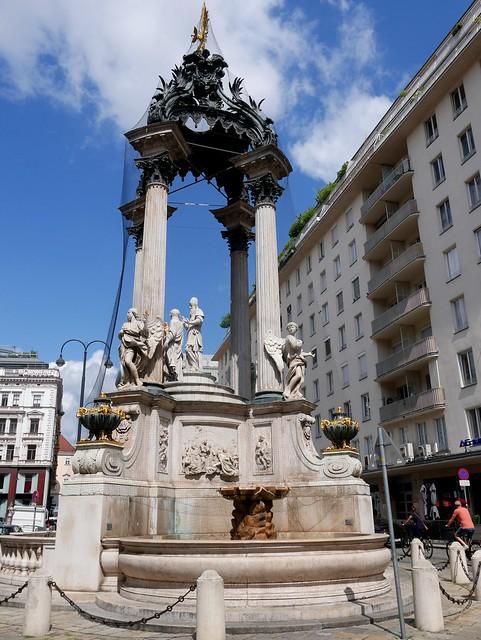 Wien, Vermählungsbrunnen / Marriage fountain