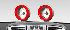 Smart Fortwo 451 Pod Ring - Clock or Rev Counter several colors available