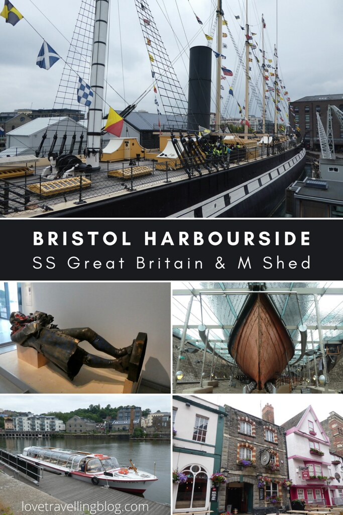 Bristol Harbourside, SS Great Britain & M Shed