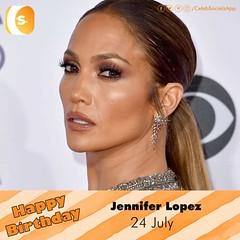 #CelebSocials wishes a Very #HappyBirthday to Jennifer Lopez Join: www.celebsocials.com