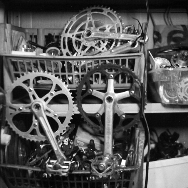 Old bike parts