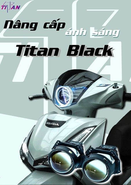 bi led titan gắn future