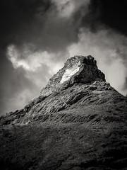 Quarry Peak, Coyote Hills, EBRP No.3 B&W