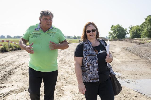 Župný výjazd do záplavových oblastí