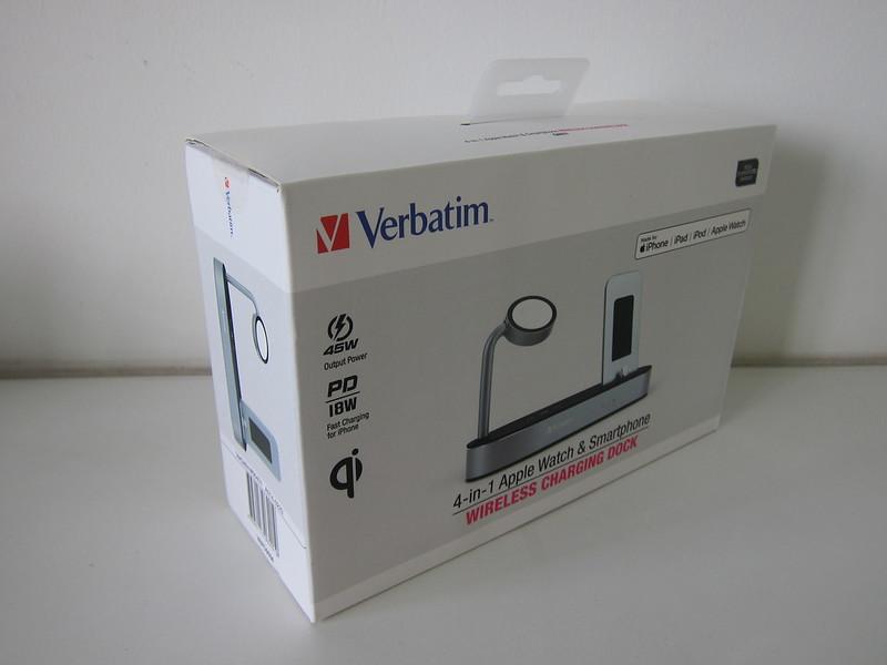 Verbatim 4-in-1 Wireless Charging Dock - Box