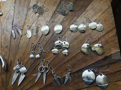 Leftover scrap earringsu2026