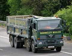 Nivek.Old.Gold posted a photo:1998 Foden Alpha 3000 tipper operated by Madingley Mulch.Last taxed in February 2012 with an export marker showing.