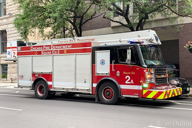 Chicago Fire Department.  Squad 2A